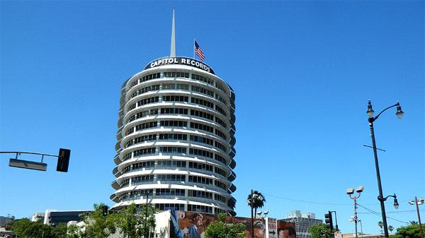 洛杉矶好莱坞大道国会唱片大楼