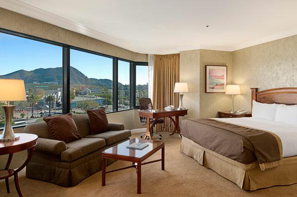 洛杉矶环球影城希尔顿酒店客房