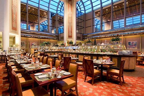 洛杉矶环球影城希尔顿酒店餐厅