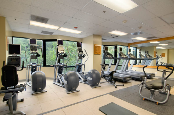洛杉矶环球影城希尔顿酒店健身中心