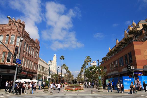 洛杉矶圣塔莫尼卡第三街步行街