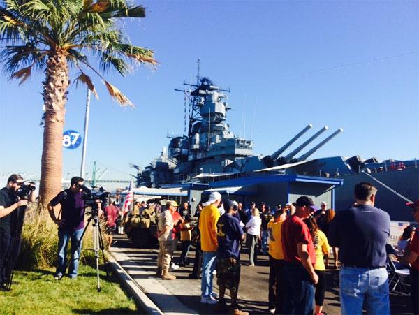 爱荷华号战列舰洛杉矶知名景点