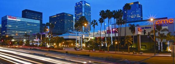 洛杉矶购物目的地Westfield世纪城购物中心
