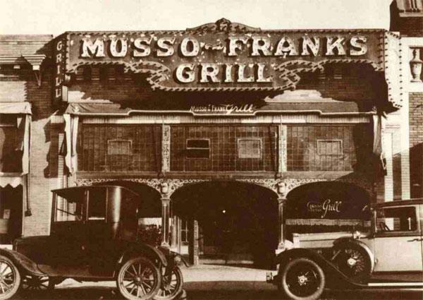 Musso & Frank 烧烤餐厅