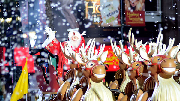 好莱坞圣诞游行