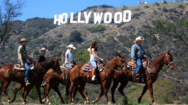 好莱坞日落牧场