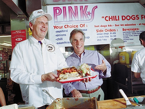 Pink's Famous Hot Dogs