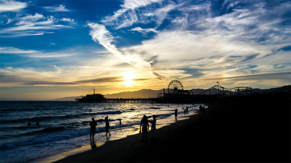 圣塔莫尼卡码头 (Santa Monica Pier)