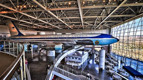 罗纳德里根总统图书馆和博物馆收藏的空军一号