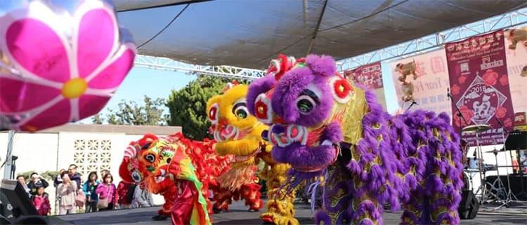 洛杉矶春节游览攻略Alhambra新年庆典