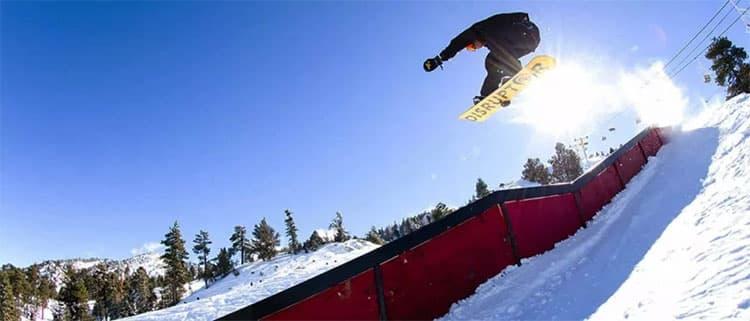 洛杉矶滑雪冲浪两不误大熊山度假村