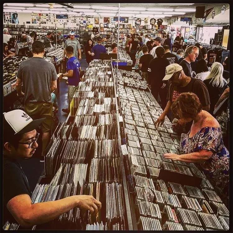 洛杉矶小众唱片店推荐CD Trader