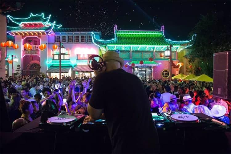 洛杉矶唐人街中国之夜