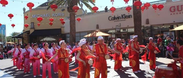 洛杉矶春节游览攻略城堡奥特莱斯
