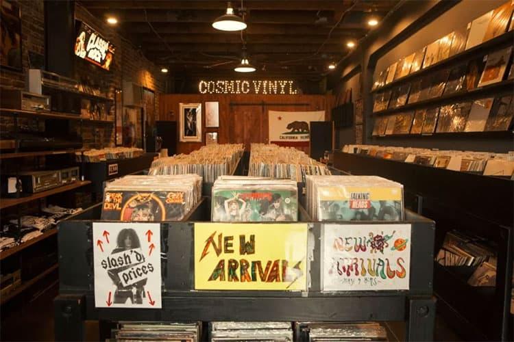 洛杉矶小众唱片店推荐Cosmic Vinyl