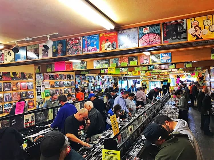 洛杉矶小众唱片店推荐Freakbeat Records