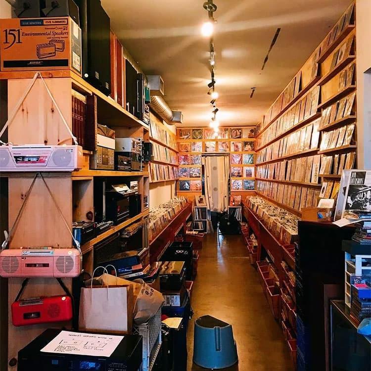 洛杉矶小众唱片店推荐Jacknife Records & Tapes