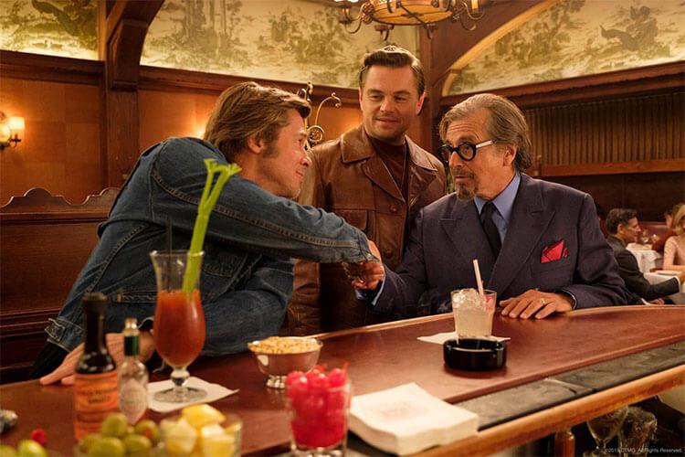 《好莱坞往事》中的Musso & Frank烧烤餐厅