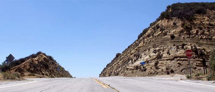 《速度与激情7》中的Templin Highway高速公路