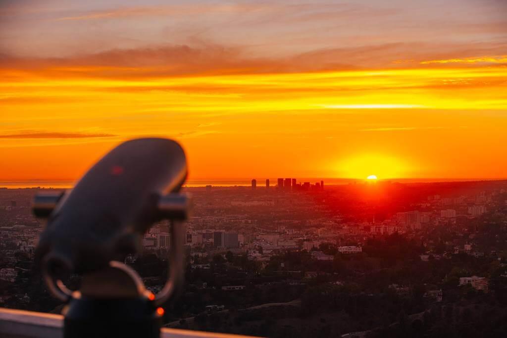 洛杉矶落日
